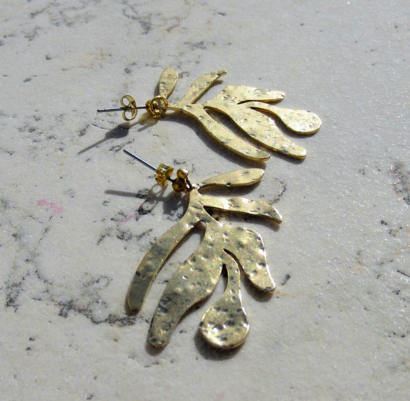 Laridae Design - Naušnice MONSTERA