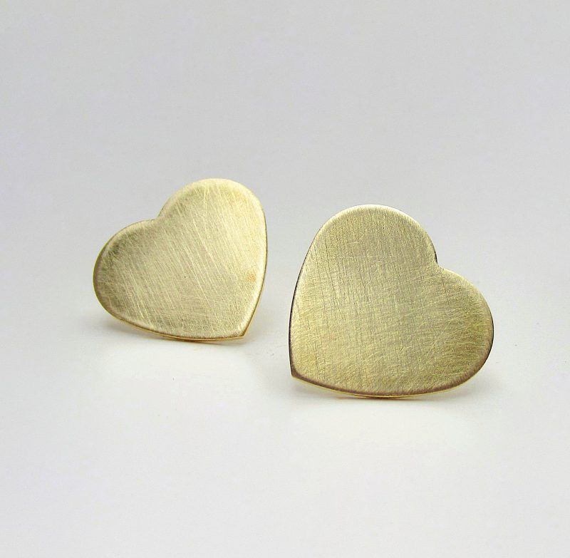 Laridae Design - Naušnice HEARTS